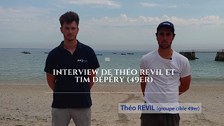 Theo Revil et Tim Depery